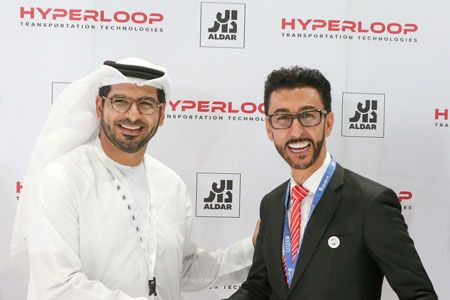 Hyperloop Transportation Technologies signs first commercial hyperloop system in the UAE