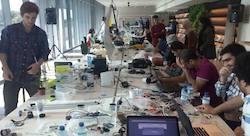 Revealing the tracks of the MIT Media Lab Dubai workshop #MLDubai