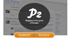 WordPress P2 مكتب افتراضي يسهّل عمل فريق منتشر في بلدان مختلفة
