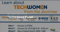 Techwomen Panel