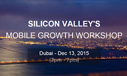Get 75% off for the Mobile Growth Workshop in Dubai with our promocode!