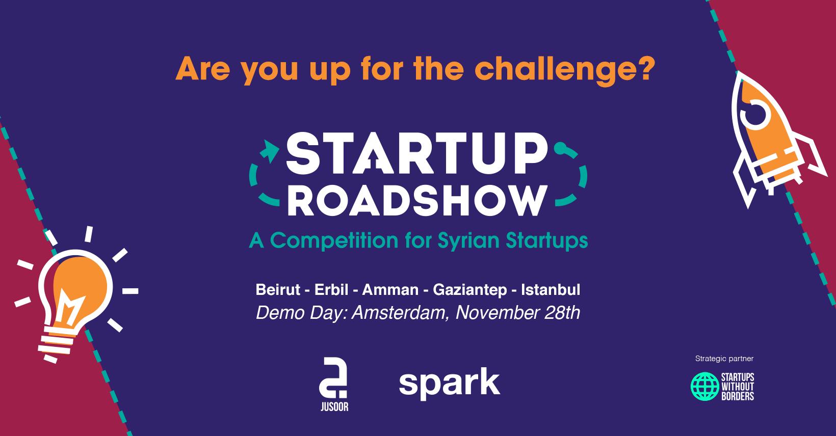 Jusoor Startup Roadshow
