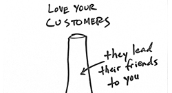 How to build loyalty by turning traditional marketing on its head