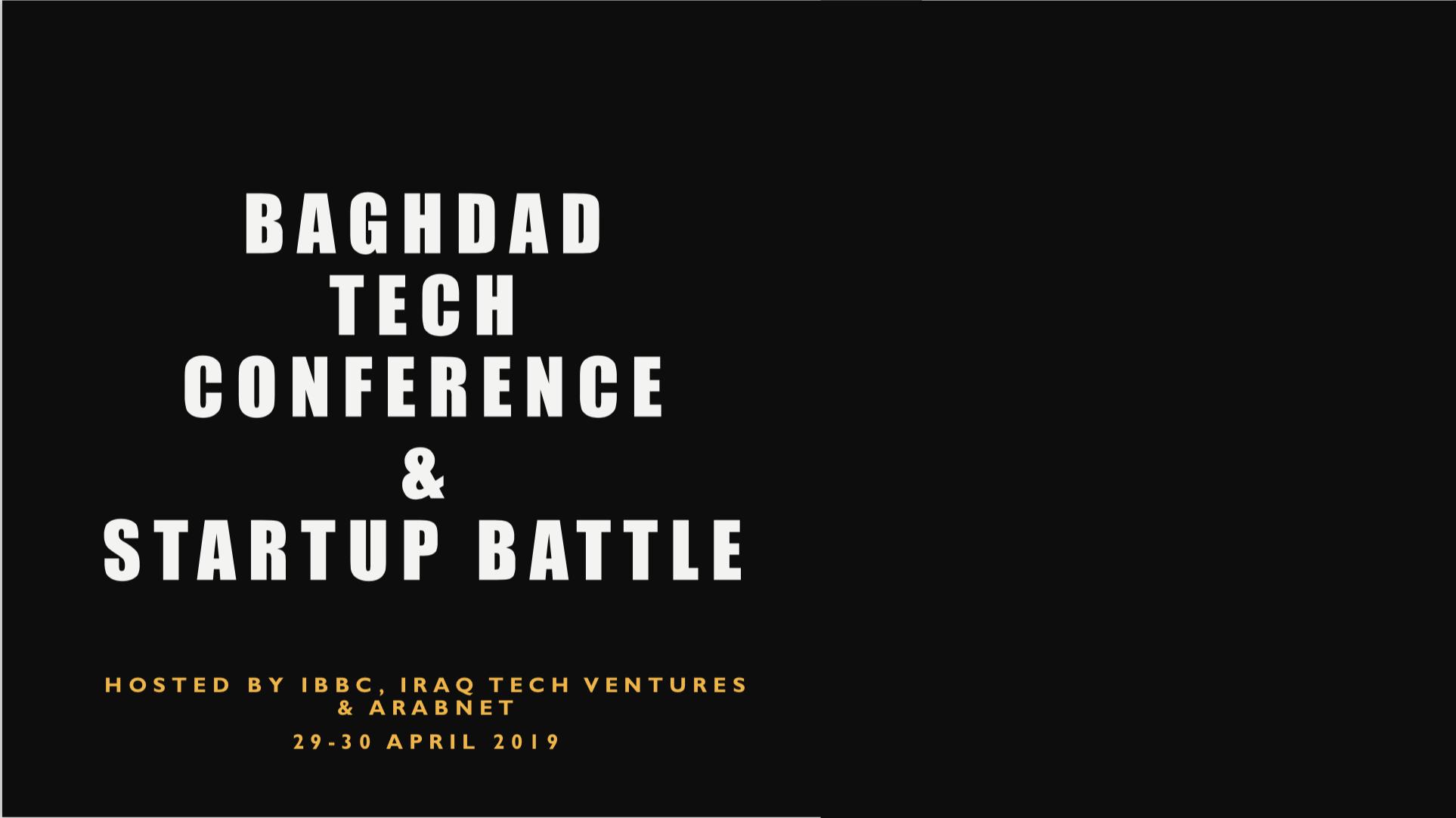 Arabnet Startup Battle - Baghdad