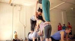 Meet the British entrepreneur teaching yoga to children in Bahrain