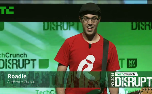Lebanon's Roadie Tuner is audience favorite at TechCrunch Disrupt in New York