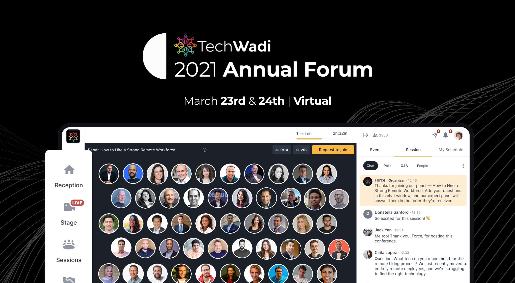TechWadi '21: the virtual tech conference bridging Silicon Valley & the MENA region