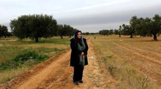 Sarah Magida Toumi: Tunisia's top tree-hugger