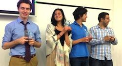 الفائزون في مسابقة جامعة نيويورك أبو ظبي يطلقون شركات ناشئة اجتماعية