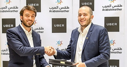 Uber and Arabiaweather announced a strategic partnership