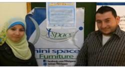 Minispace Designs Multiple Use Furniture in Gaza [Wamda TV]