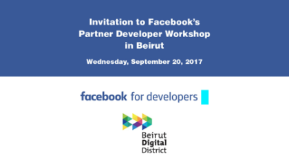Facebook Partner Developer Workshop