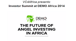 Investor Summit at DEMO Africa 2014 in Lagos, Nigeria