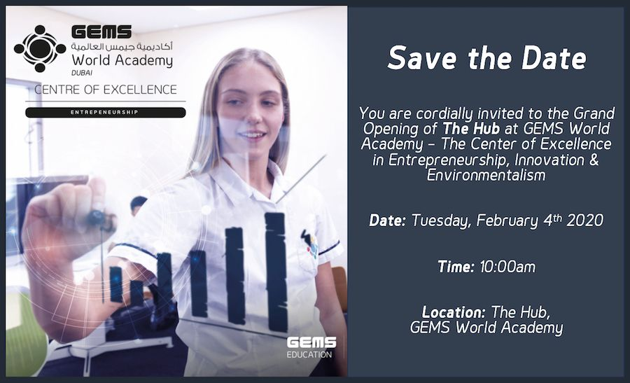 The Hub: The Center of Excellence for Entrepreneurship, Innovation, and Environmentalism