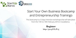 APPLY NOW to the Oasis500 Bootcamps at Startup Maroc