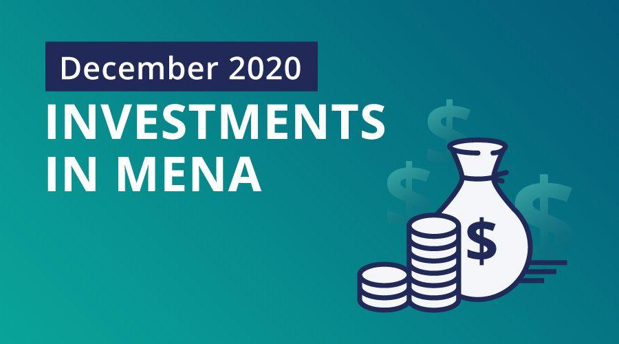 Mena startups raised $65.5m in December, pushing 2020 total to $654m