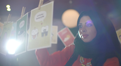 Keeping Arabic alive with greeting cards