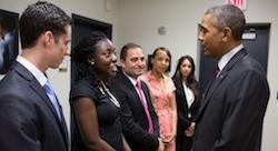 Lebanese m-health entrepreneur meets President Obama