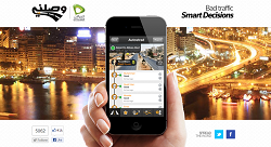 Mobile App Wasalny Tackles Cairo's Traffic, Now in Arabic