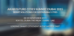 Arab Future Cities Summit Dubai 2015