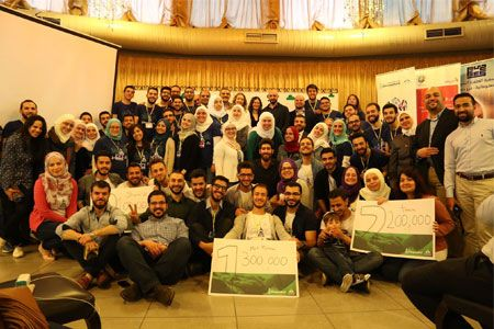 Three teams won in Startup Weekend Homs