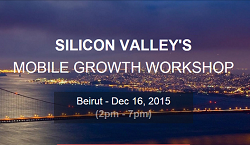 Attend the Mobile Growth Workshop in Beirut for FREE with our promocode!
