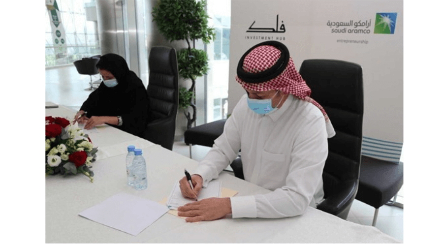 Aramco's Wa'ed signs agreement with Falak Investment Hub to increase Saudi startup funding