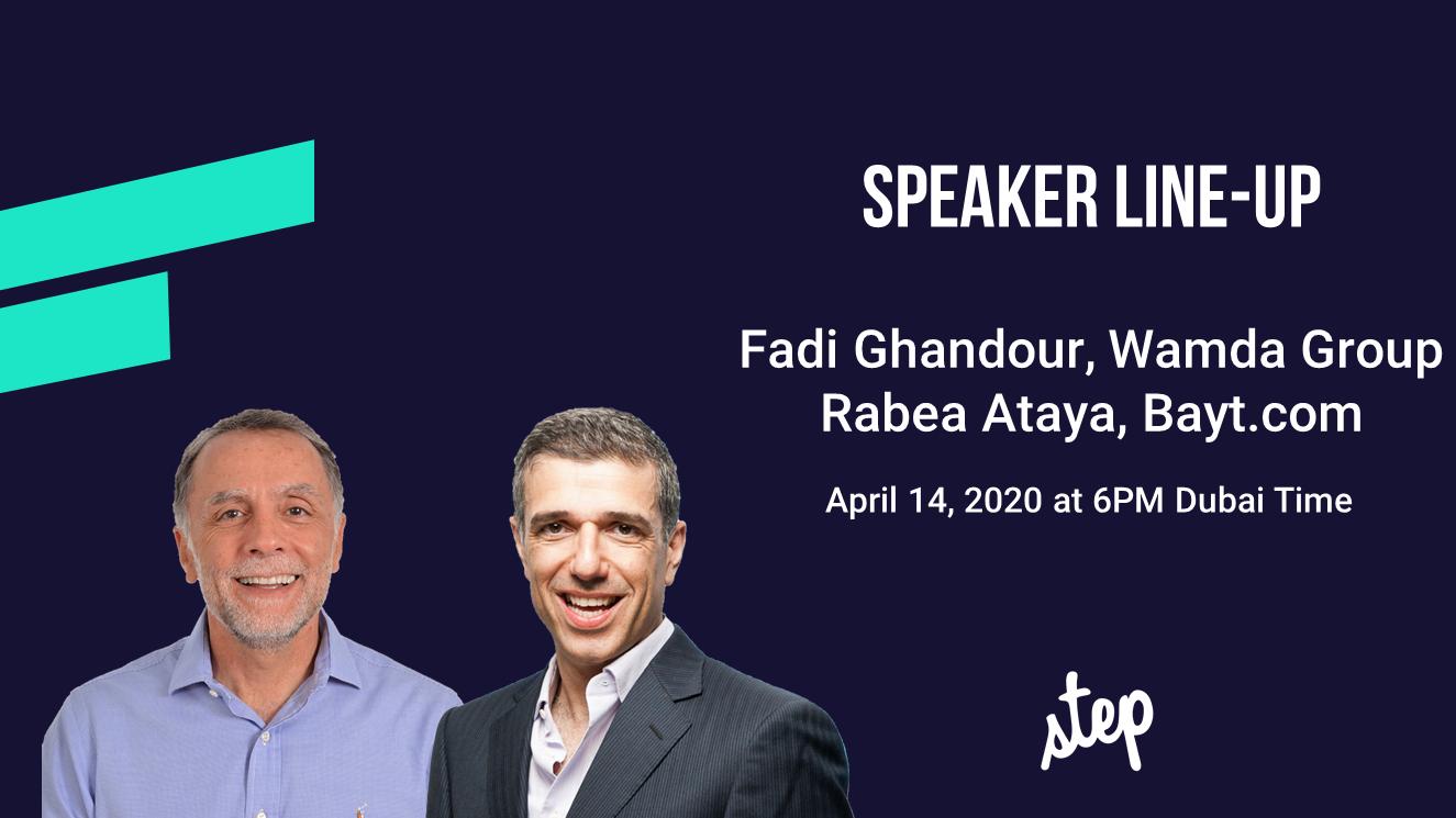 STEP Chat: Fadi Ghandour, Wamda and Rabea Ataya of Bayt