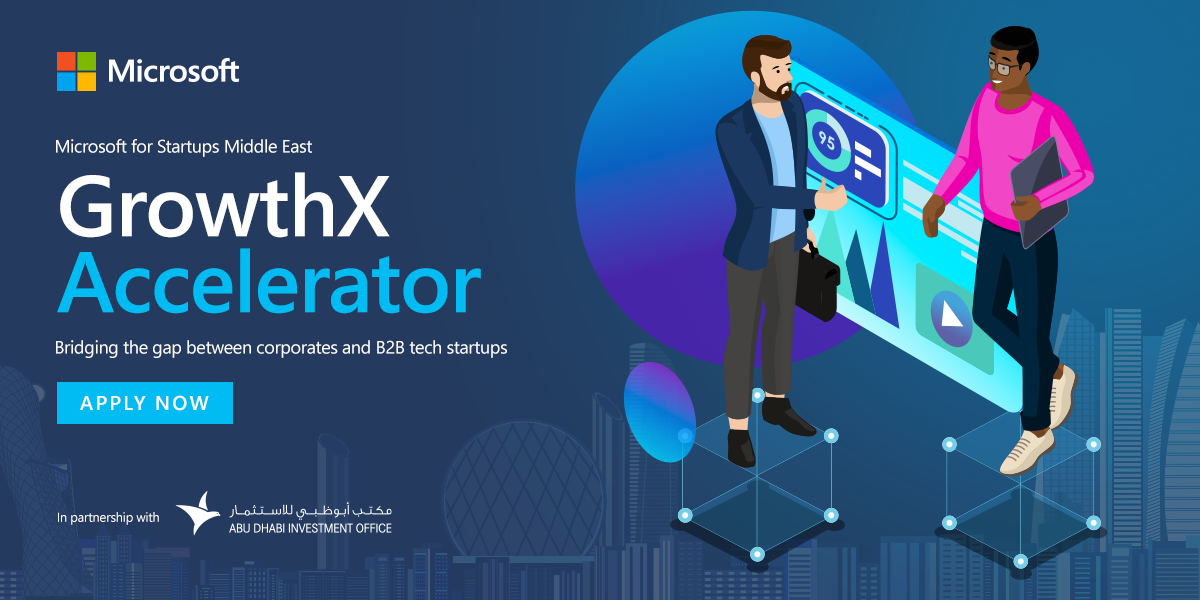 Microsoft launches 'GrowthX Accelerator' for B2B startups in UAE
