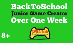 Back to school junior game creators