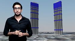 معماري ريادي أردني يقترح حلاً لمعضلة 'أبراج السادس' في عمّان