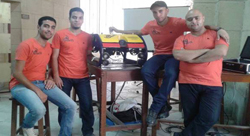 Students develop first Egyptian Remotely Operated Underwater Vehicle (ROV) for undersea exploration