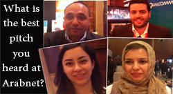 What is the Best Pitch You Heard at Arabnet? We Ask the Crowd [Wamda TV]