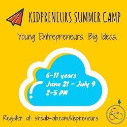 Sirdab Lab's Kidpreneurs summer camp for children
