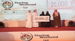 Startup Weekend Taif carries on the Kingdom's vision 2030