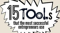 15 أداة يستخدمها أكثر الرياديين نجاحاً [إنفوجرافيك]