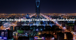 Get in the Ring Regional Final Middle East (Saudi Arabia)