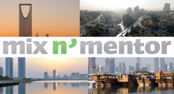 4 Mix N' Mentors in 40 Days! Register Now for Doha, Manama, Amman, and Riyadh