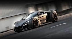 نجمة 'فاست أند فيريوس 7': سيارة عربية بملايين الدولارات