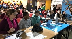 Gaza hackathon solves 'lady problems'