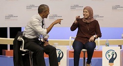 Eventtus founder meets Obama
