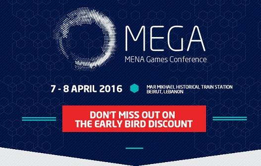 MEGA 2016: MENA Games Conference [Discount Code!]