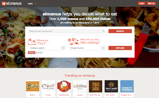 How Elmenus is leveraging the trend of Egyptian food going digital