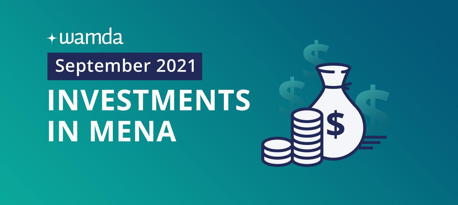 Startups in Mena raised $338 million in September 2021